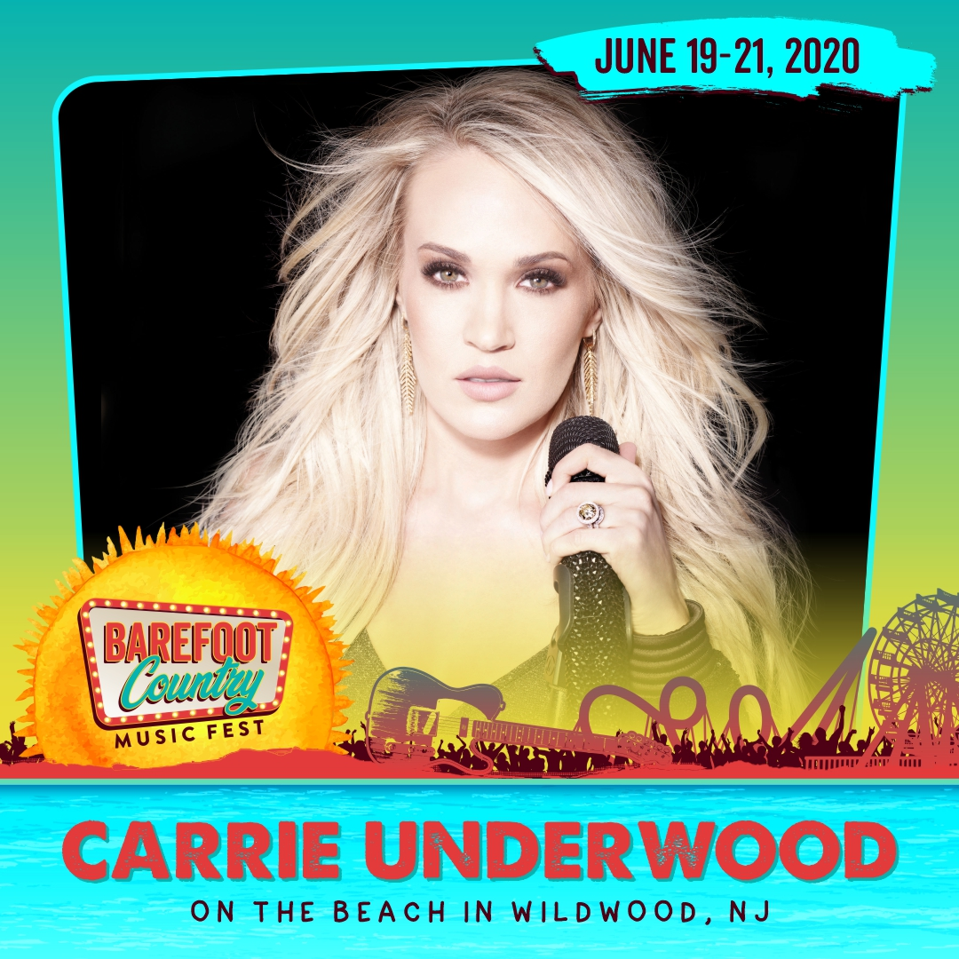 Carrie Underwood Is the First Headliner for BCMF 2020