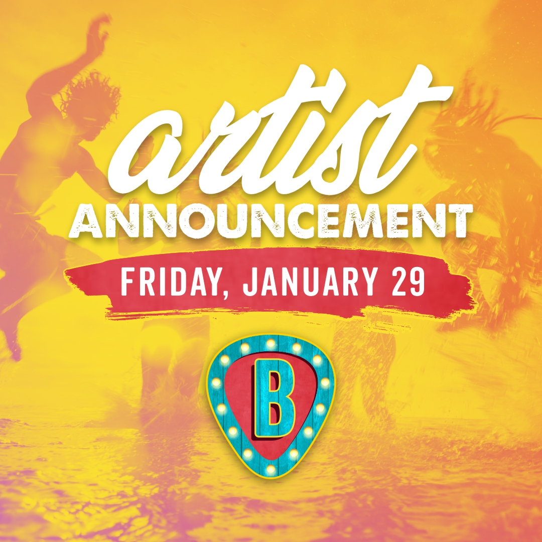 Artist Announcements Coming Soon!