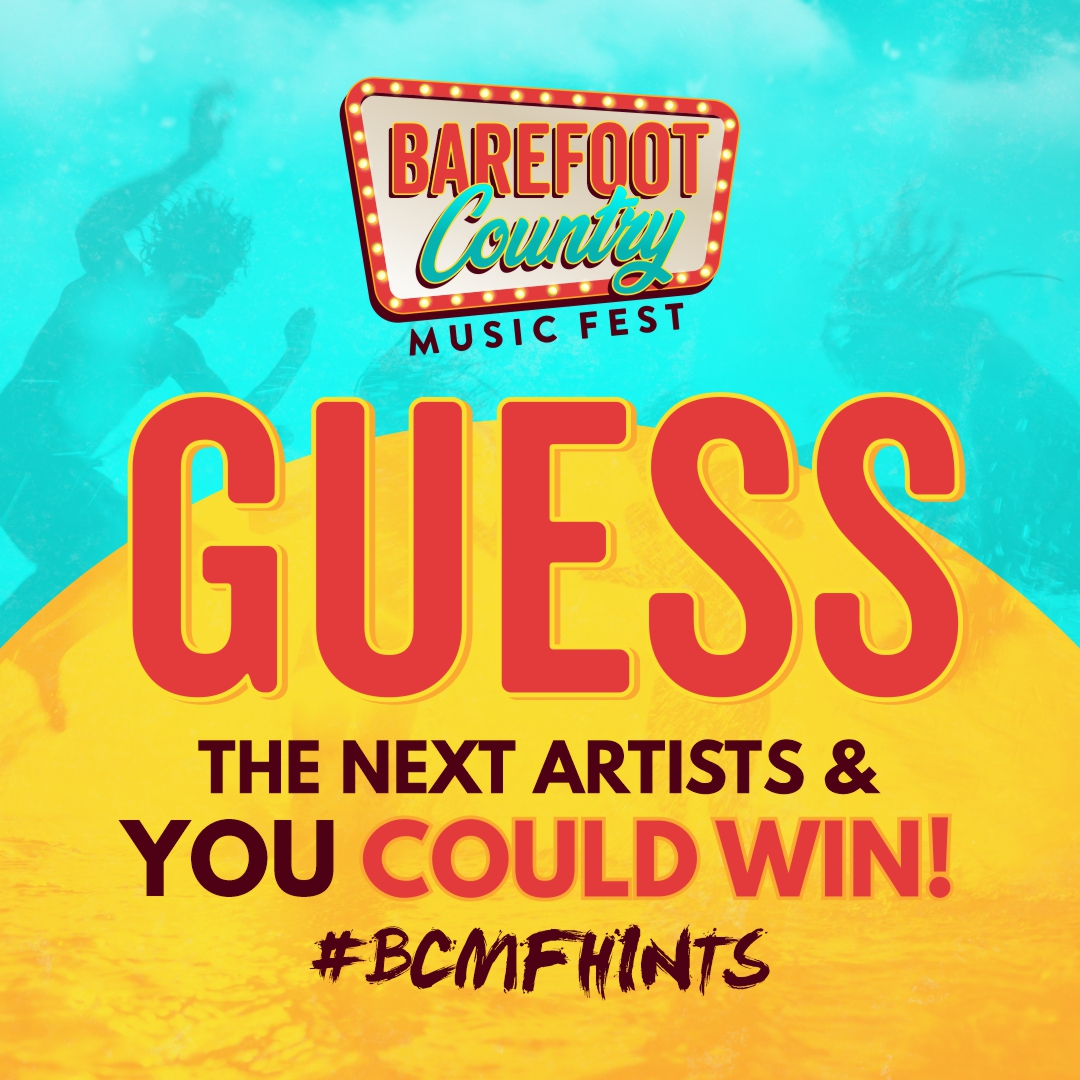 Guess Our Next Artists and You Could Win! #BCMFHints