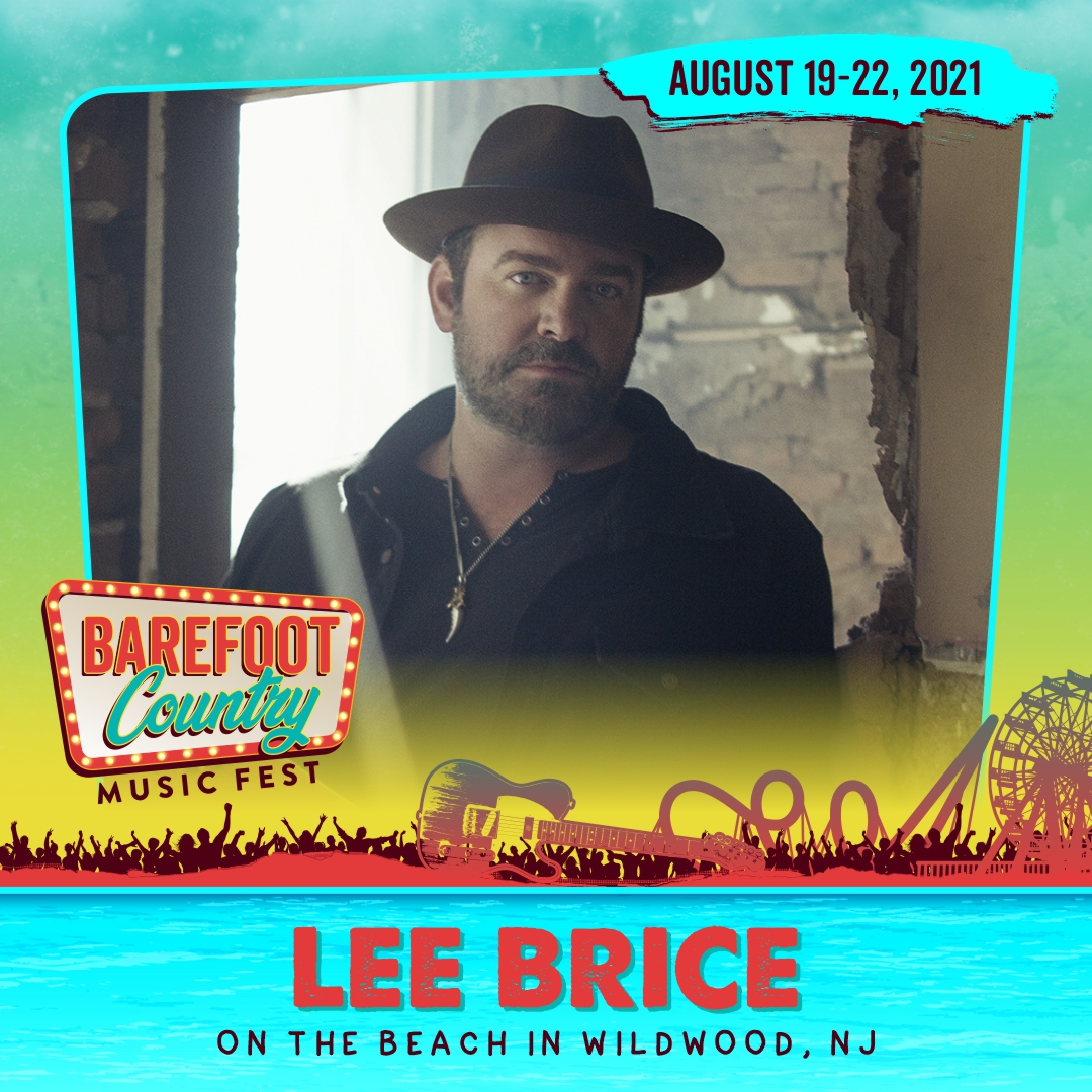 Lee Brice Added to the BCMF 2021 Lineup!