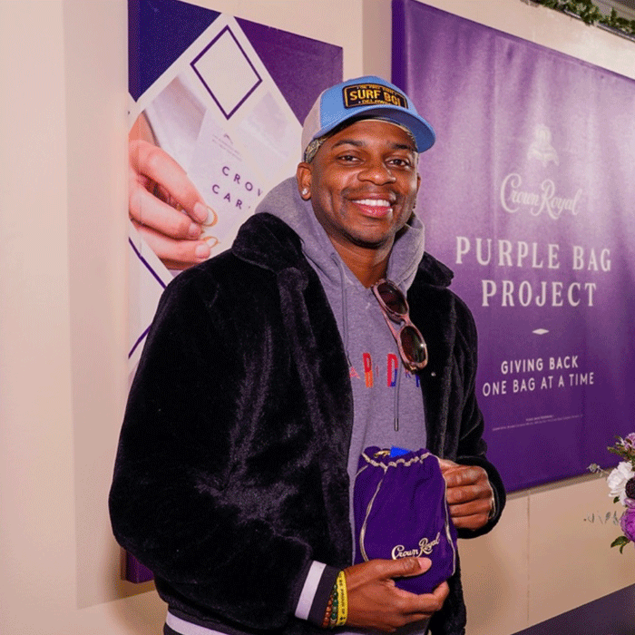 PACK A BAG WITH CROWN ROYAL